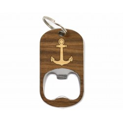 Bottle Opener Keychain - Anchor