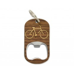 Bottle Opener Keychain - Bike