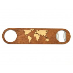 Bottle Opener - World Map