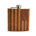 Hip Flask American Flag