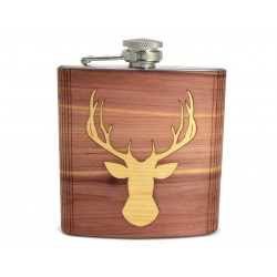 Hip Flask Deer