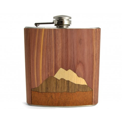 Hip Flask Mountains